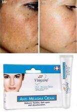 VINCERE Cream Anti-Melasma,Age Spots,Sun Spots,Pigmentation,Freckles /15ml.