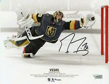 """Marc-Andre Fleury VGKs Signed 8"""" x 10"""" Diving Save vs Toronto Maple Leafs Photo"""