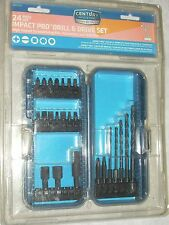 Century 66945 Impact Pro 24pc Drill & Drive Set Screw Bits Nutsetters Drill Bits