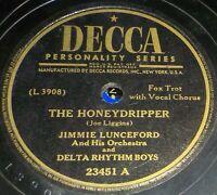 Jimmie Lunceford & Delta Rhythm Boys 78 Honeydripper / Baby Are You Kiddin' Z6