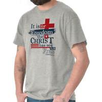 Jesus Christ Set Free Christian Shirt Religious Gift God Cool T Shirt