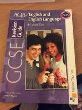 English and English Language Revision Guide Higher Tier GCSE AQA
