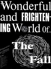 FALL POSTER. WONDERFUL AND FRIGHTENING WORLD OF THE FALL. Size large-A2. Punk.