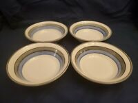 """SET OF 4 CARRIGALINE POTTERY COUNTY CORK IRELAND 6.5"""" CEREAL / SOUP BOWLS   EUC!"""