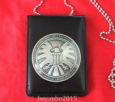THE AVENGERS AGENTS OF S.H.I.E.L.D. SHIELD BADGE / HOLDER / ID WITH CHAIN