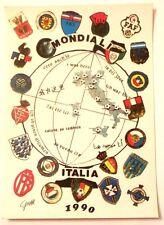 Cartolina Mondiali Italia 90