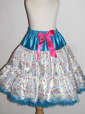 New Halloween pettiskirt Clown Doll skirt costume tutu 10 - 12 years girl tween