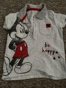 Baby Boys Disney Tshirt 6-9 M