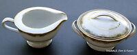 WARRINGTON by NORITAKE ~ Creamer & Lidded Sugar Bowl Set