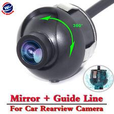 Inverse de voiture caméra de recul rétroviseurs système étanche IP68 360 ° degré