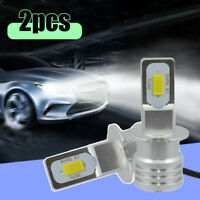 2pcs H3 LED Fog Light Headlight Bulb Car Driving Lamp DRL High Power 6500K White