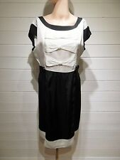Next Dress ~ Size 12 ~ BNWT ~ Black & Ivory ~ Wedding, Cruise, Party