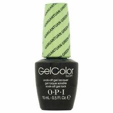 OPI GelColor Soak Off Gel Lacquer Gargantuan Green Grape 15ml Gel Color