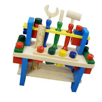Wooden Nuts Building Toy Tool Set Assemble Kit Educational Toys for Kids