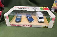 Solido 1001 coffret Policia  Conjunto Policia scala 1/43