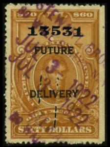 RC18 REVENUE Future Delivery $60 Brown LINCOLN Used Cut Cancel SEE PHOTOS K-419
