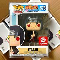 Funko Pop Naruto Shippuden AE Exclusive : Itachi #578 Vinyl w/Protector Case