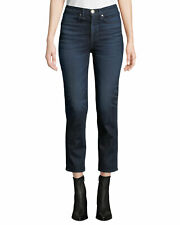 Rag & Bone Ankle Cigarette in Jack High Rise Stretch Crop Jeans 25