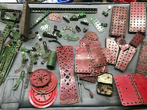 Vintage Red & Green Meccano