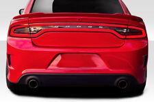 2015-2018 Dodge Charger Duraflex Hellcat Look Rear Bumper - 1 Piece 113221