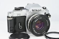 Nikon FG SLR Camera w/ 50mm f1.8 Series E Lens filters Look !!!