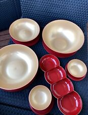 ❤️ Tupperware MEGA Allegra Set + Perle Rot Gold Weihnachten NEU &OVP 5L 3,5L ❤️