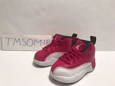 Air Jordan Xii 12 Retro baby size 5C white varsity red flu infant