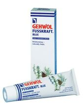 75ml Gehwol Fusskraft Blue Bleu Foot Cream Athlete's Foot Foot Odour Itchy Toes