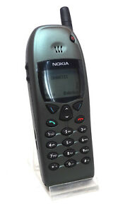Nokia 6110 Vert Nouveau Swap Original Unlcoked Fully Working Rare