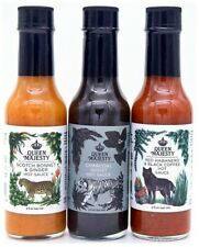 Queen Majesty Hot Sauce - Heat & Flavor Combo Pack