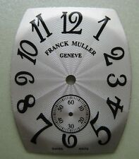 GENUINE FRANCK MULLER SMALL  SECONDS WATCH DIAL SILVER COLOR UNUSED 23 x 28 mm