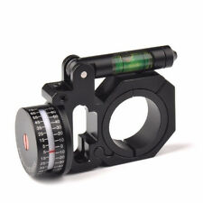 "Precision 1""/30mm Ring Angle Degree Indicator (ADI/ACI) Scope Mount&bubble level"