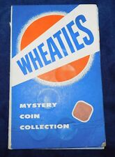 WHEATIES MYSTERY COIN COLLECTION  Vintage 1950's Advertising