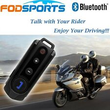 1000m Intercom BT-S1 Motorcycle Bluetooth Helmet Interphone Headset with FM x1