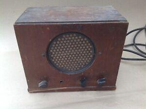 Philco Phone 901 Intercom Amplifier Loudspeaker with tubes