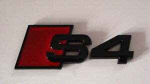 Black S4 Badge