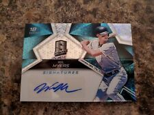 Wil Myers 2017 Spectra Blue Disco Refractor Auto /20 Padres !!!!