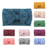 Baby Headband for Girls Soft Elastic Newborn Headbands Bow Accessories Headwear