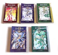 Tokyopop Anime Manga Magic Knight Ray Earth Graphic Novel Comic Books lot of 5
