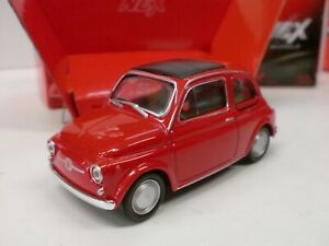 WELLY 1/43 - FIAT 500 ROSSA