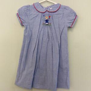 Orient Expressed 2 Girls Madeline Smocked Dress Peter Pan Collar