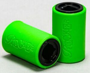 Rocker Mini Rocker BMX 12mm Stunt Pegs Plegs Bright Green Black Free Delivery
