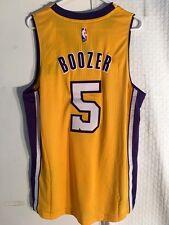5262c6395617 Adidas Swingman 2015-16 NBA Jersey Los Angeles Lakers Carlos Boozer Gold sz  2X