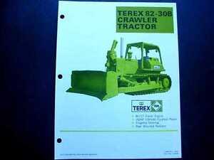 3 Pieces Terex 82-30B & L700D & D700D Crawler Tractor