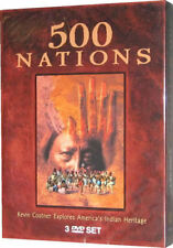 500 Nations American Great Indian Wars history DVD New