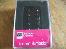 SEYMOUR DUNCAN SH-8N INVADER HUMBUCKER PICKUP NECK BLACK NEW (11102-29-B)