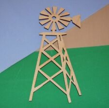 Windmill Unfinished Wood Shapes Cut Outs 1W5808D