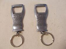 Lot of 2  Samuel Adams Bottle Opener Keychains