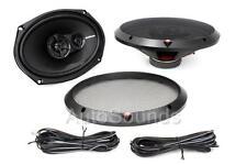 "Rockford Fosgate R169X3 130 Watt 6"" x 9"" 3-Way Coaxial Car Audio Speakers 6""x9"""