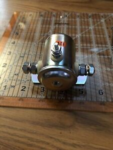 3 Post Grounded Starter Solenoid for Fenner Barnes DelcoFlat Base
